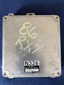 1986 Mazda RX7 RX-7 5 speed ECM ECU N326 18 881 C