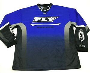 Fly Racing Motocross Jersey Size Extra Large XL Long Sleeve Shirt Dry Fit Men MX