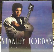 STANLEY JORDAN - FLYING HOME - EMI MANHATTAN RECORDS LP NM Jazz Guitar Virtuoso