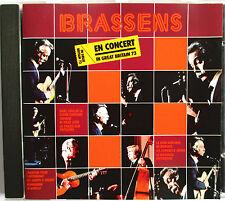 "GEORGES BRASSENS - RARE CD ""EN CONCERT (IN GREAT BRITAIN 73)"""