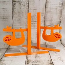 Sloth Bookends - 3D Printed - Children's Bedroom - Gifts for boys - Gifts girls