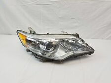 2012 2013 2014 TOYOTA CAMRY LE XLE CHROME BEZEL OEM RIGHT SIDE HEADLIGHT