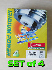 Set of 4 DENSO IRIDIUM POWER SPARK PLUGS ITV22 x4 recommended for Mazdaspeed 6
