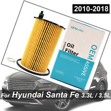 OEMASSIVE Oil Filter For Hyundai Santa Fe DM NC 2013-18 3.3L 3342CC V6 Engine