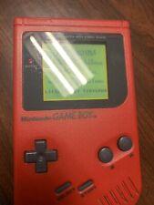 Nintendo GameBoy Original Red