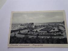 GERMAN 3 RD REICH SWINEMUNDE GERMANY - WW2 VINTAGE GERMAN PHOTO POSTCARD CANCELS