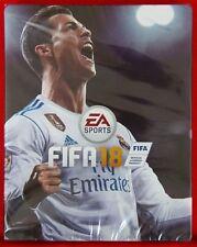 FIFA 18  - LEERE STEELBOOK FÜR XBOX 360  ! OHNE SPIEL ! NEU & OVP IN FOLIE