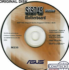ASUS GENUINE VINTAGE ORIGINAL DISK FOR A7S333 Motherboard Drivers Disk M235