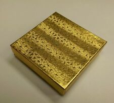 """Cotton Filled #4 Gold Foil Boxes 33G 3 1/2"""" x 3 1/2"""" x 1"""" Box of 100"""