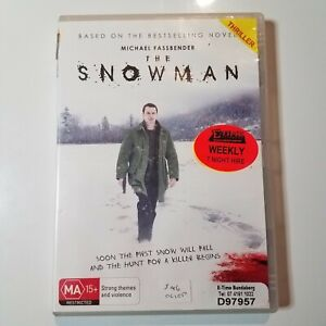 The Snowman | DVD Movie | Michael Fassbender | 2017 | Mystery/Crime | Pre-owned