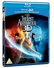 The Last Airbender 3D (3D + 2D Blu-ray, 2 Discs, Region Free) *NEW/SEALED*