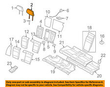 BMW OEM 07-08 328i Rear Seat-Headrest Head Rest 52207247107