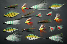 20x Mixed Flys Freshwater Flies Fly Fishing Lures Trout Saltwater Bream Pelagic