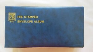 Collection of Pre Stamped Envelopes (1978-81) in PW Binder Vol 1 No 1 - 45 FDI