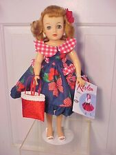 "Vintage 1950s 18"" MISS REVLON DOLL - Beautiful Outfit with All Accessories"