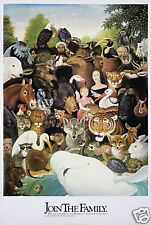 Original Vintage Poster Minnesota Zoological Society Animals Zoo Whale Tiger 70s