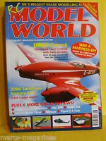 "RCMW AUGUST 2006 RC MODEL WORLD CLAYMORE 36"" SPAN PLAN ULTIMATE SLINGSBY HP 14"
