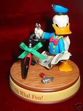 Hallmark Ornament 2008 Oh What Fun Donald Duck Bike Disney