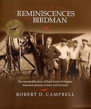 Earle Lewis Ovington - REMINISCENCES OF A BIRDMAN book - 1st U.S. Air Mail Pilot