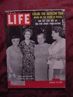 LIFE August 10 1959 PARACHUTING NEW YORK CHARLEY WEAVER