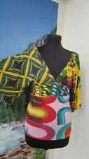 DESIGUAL Top Short Sleeve Size S (M)