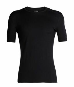 MENS ICEBREAKER MARINO BASELAYER SHORT SLEEVE TOP 200, EXTRA LARGE- 104509001