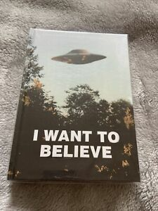 The X Files I Want To Believe Official Hardback Journal - Brand New