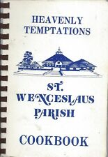 OMAHA NE 1988 ST WENCESLAUS CATHOLIC CHURCH HEAVENLY TEMPTATIONS COOKBOOK ETHNIC