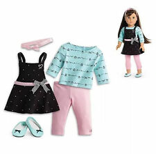 American Girl Grace's BAKING OUTFIT COMPLETE  SHIPS FAST!!! NO DOLL