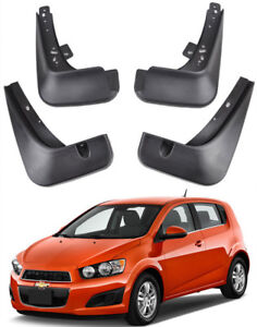 OE Set Splash Guards Mud Guards Flaps 2012-2016 Chevrolet Sonic / Aveo Hatchback