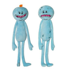 Blue 25CM Rick And Morty Mr Meeseeks Happy Sad Face Stuffed Plush Doll Soft Toy