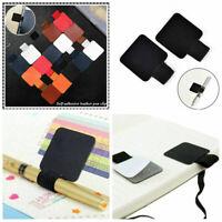 Lederstiftclip elastische Schlaufe für Notebooks Stifthalter A0S7