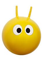 *NEW* Children's YELLOW HOPPIT Space Hopper Bounce Ball - 42cm diameter