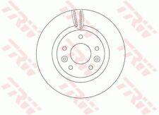 TRW JEU DE 2 DISQUES DE FREIN POUR NISSAN LEAF ELECTRIC,X-TRAIL 1.6 DCI,2.0