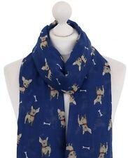 952ce9b05c15 Mignon Chihuahua Dog   Bone écharpe femmes chiot Imprimé Femmes Animal  foulards cadeaux