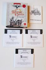 """WAR IN MIDDLE EARTH PC BIG BOX Melbourne House 5.25"""" retrogame videogame"""