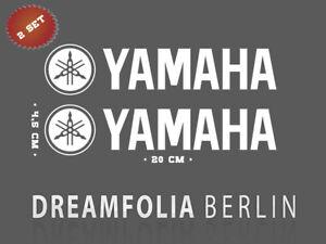 Yamaha Premium Aufkleber Set / Motorrad / Motorsport / MotoGP in Wunschfarbe!