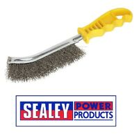 Sealey Wire Brush Stainless Steel Plastic Handle WB05Y