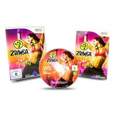 Nintendo Wii Jeu Zumba Fitness Jointure The Party sans en Emballage Original U