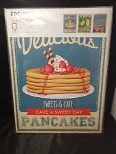 "IKEA Edelvik Poster Set of 3 Pancakes Lemonade and Jars of Jam NEW 12 ¼"" x 16 ¼"""