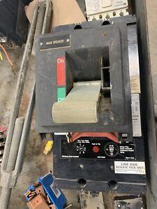 MCC3800F Westinghouse 600V 800A Seltronic MCC Circuit Breaker 3P 3PH