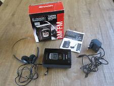 Sharp JC-516 H (BK) Walkman*mit Radio*in OVP*neuwertig*TOP*Kassettenspieler*