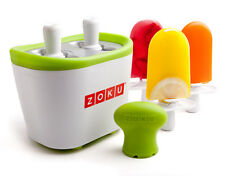 ZOKU Duo Quick Pop Ice Cream Lolly Maker Easy and Quick Fun Pops