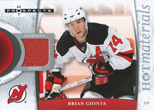 (HCW) 2007-08 Hot Prospects Hot Materials BRIAN GIONTA Jersey NHL 01893