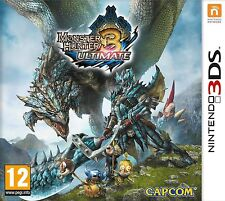 Monster Hunter 3 Ultimate Nintendo 3DS 2DS nagelneu und versiegelt