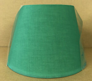 """12""""Tapered Drum Green Lampshade Table Lamp Ceiling Light Shade NEW"""