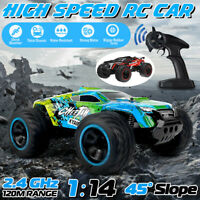 4WD Remote Control Car RC Big Wheel 2.4Ghz Off-Road Vehicle Kids Toy Gifts Xmas