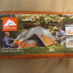 Hiker Tent Waterproof Ozark Trail 2 Person Ultralight Backpacking Outdoor New