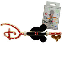 Minnie Mouse Themed Disney Store Opening Key Pin Trading Badge Mystery Boxed NEW
