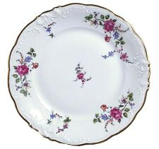 Walbrzych Sheraton Rose 10 3/8 in Dinner Plates- Lot of 3